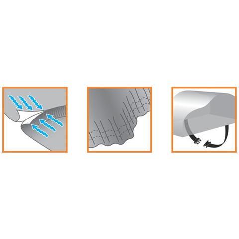 Adattatore per Filtro Olio Tubo in Acciaio Inox Intrecciato in Nylon Romsion Kit di Raffreddamento dellolio a 13 File