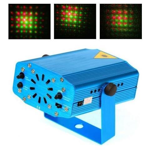 Mini Proiettore Effetto Luci Laser Per Disco Discoteca Dj.Dobo Mini Proiettore Laser Effetto Luci Disco Dj Discoteca Festa