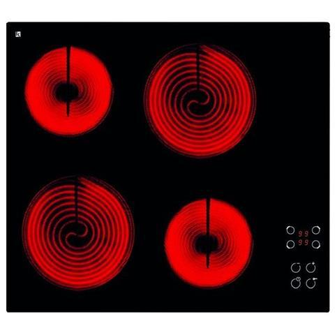 ARDESIA - Piano Cottura Elettrico PE 58 FH in Vetroceramica 4 Zone ...