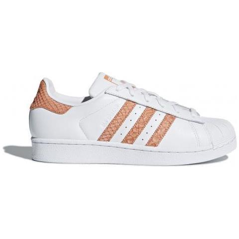 adidas Superstar W Ftwwht / chacor / owhite Scarpa Tempo Libero Donna Uk 5,5