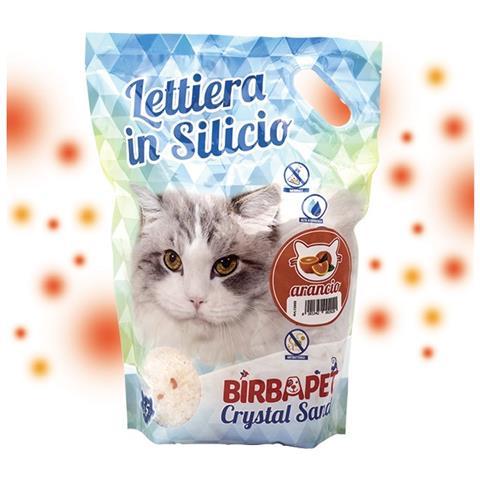 Birba Pet Lettiera In Silicio Naturale Allarancia Birba Pet