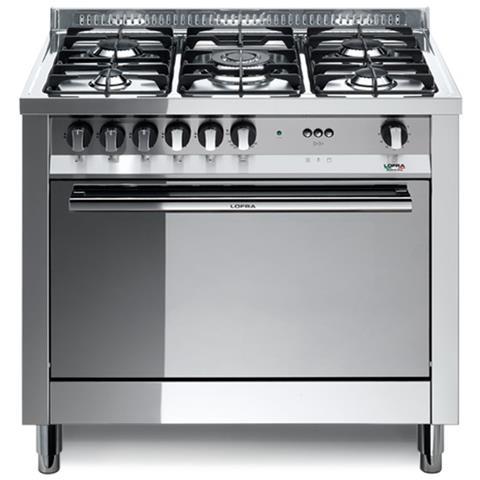 Lofra Cucina Elettrica Mg96mf C 5 Fuochi A Gas Forno Elettrico Classe A Dimensioni 90 X 60 Cm Colore Inox Serie Maxima 90 Eprice