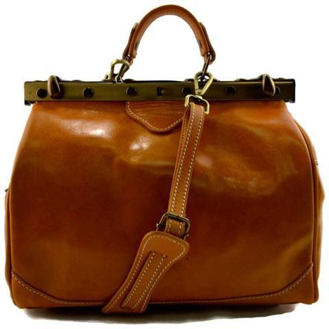 ShopSmart - Borsa Donna Doctor Bag Vera Pelle Medico Handbag Manici E  Tracolla Giallo Borsa Medico In Pelle Donna Borsa Medico Borsa Dottore -  ePRICE 92d1b211608