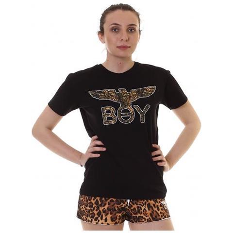 47b1c3dc6ade BOY LONDON - Maglia Jersey G   c M   m+stampa T-shirt Manica Corta Donna  Taglia L - ePRICE