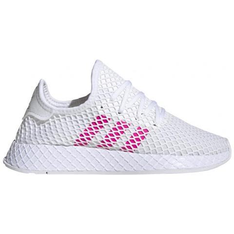 adidas Deerupt Runner J Sneaker Bambina Uk Junior 5