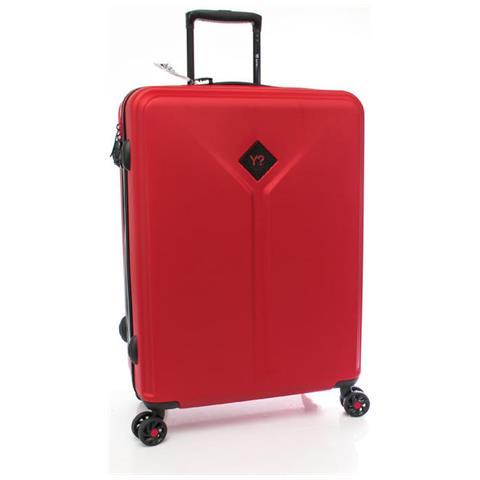 Trolley medio Ynot Y Solid K8002 Rosso