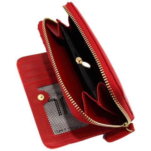 2386f6bf7b LANCETTI - Portafoglio Donna Linea Multicolor W24-644 Rosso - ePRICE