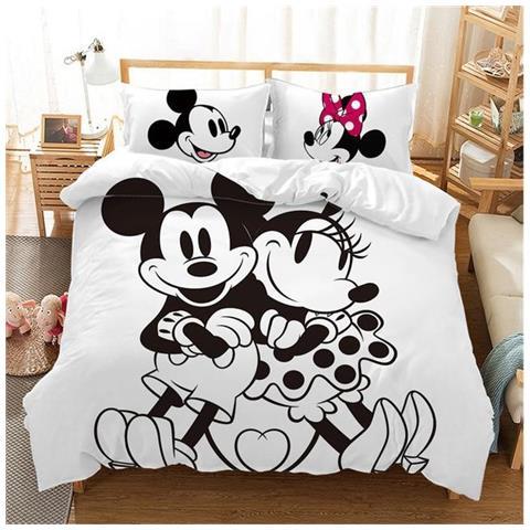 Slowmoose Set Di Biancheria Da Letto Disney Topolino Bianco E Nero Per Bambini E Bambine M 1 Us Full Eprice