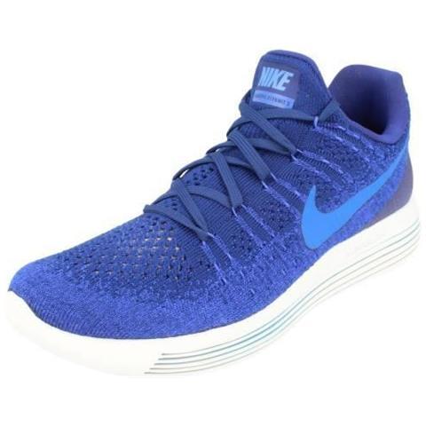 NIKE Sneakers Da Corsa Nike Lunarepic Flyknit Uomo Blu