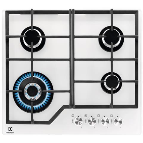 ELECTROLUX - Piano Cottura PVB642UOV a Gas 4 Fuochi Gas Colore ...