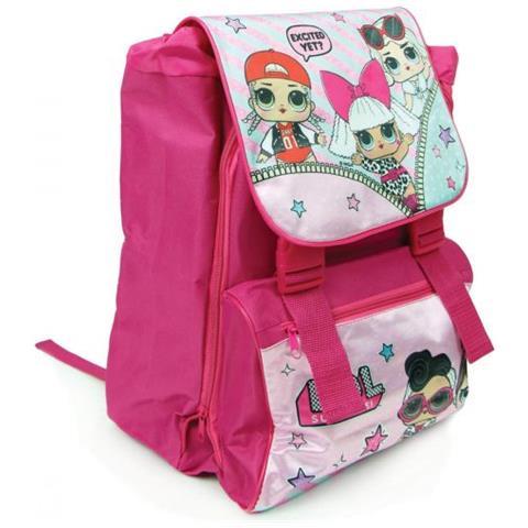 design di qualità 48d95 dd3e5 Arcamania Zaino L. o. l Surprise Scuola Elementare Rosa Per Bambine 2019  Con Personaggi