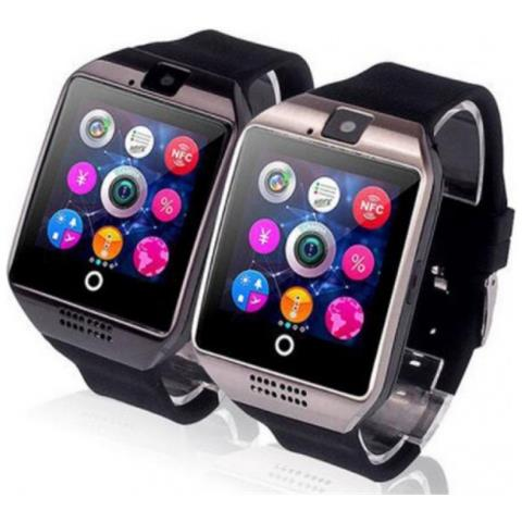 LEOVIN Smartwatch Q18 Bluetooth Per Android Ed Ios Black