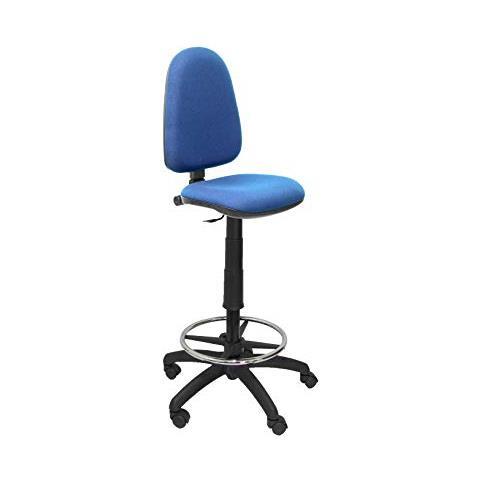 regolabile in altezza Piqueras Y Crespo T04CP/ anello poggiapiedi e ruote di parquet Viola /Sgabello ergonomico