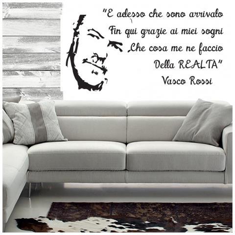 Adesivi Murali Vasco Rossi.Stampepersonalizzate Com Adesivi Murali Vasco Rossi E Adesso Che