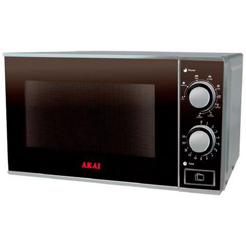 AKAI - AKMW250 Forno Microonde con Grill Capacità 25 Litri Potenza ...