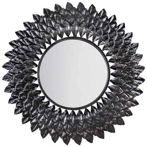 Specchio Tondo Da Parete.Beliani Specchio Da Parete Tondo O70 Cm In Argento Larrau Eprice