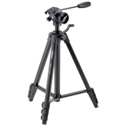 Treppiede con Testa a Sfera Altezza Max 155 cm Nero V30146-EU
