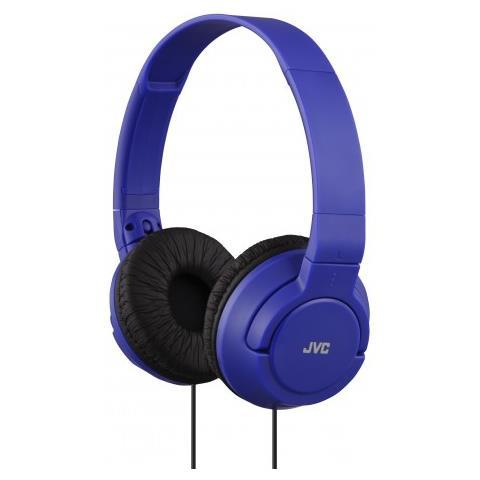 JVC - Cuffie Sovraurali con Cavo Colore Blu - ePRICE 08416fc106f7