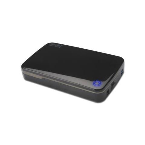 External HDD, SATA, USB-B, Nero, HDD, Potenza, Plastica, JMS539B
