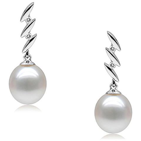 79fdd44d9d56ef Blue Pearls - Orecchini 925 Argento E Perle Coltivate Bianca - Bps P300 Q -  ePRICE