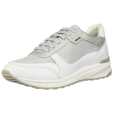 reputable site 33586 11931 GEOX Sneakers Donna Argentato 36