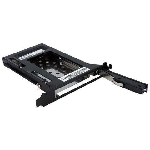Alloggiamento disco rigido rimovibile SATA 2,5'' per slot di espansione PC