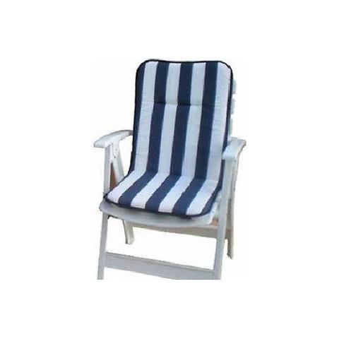Beautissu Loft NL Set di 6 Cuscini per sedie da Giardino e ...