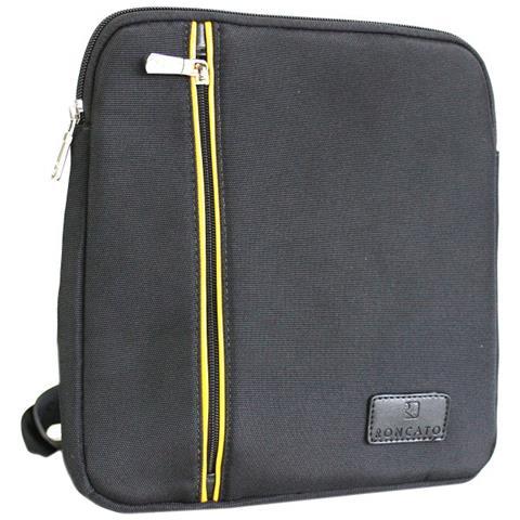 65a3a112f3d48 Roncato - Borsello Uomo Tracolla Piatta Porta Tablet 46.59.02 Nero - ePRICE