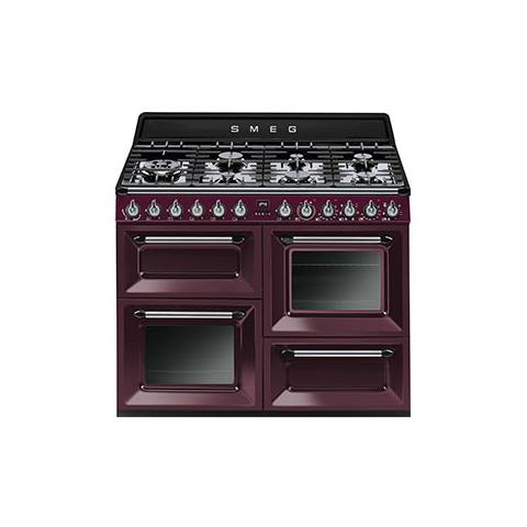 SMEG - Cucina a Gas TR4110RW1 7 Fuochi Forno Elettrico Classe A ...