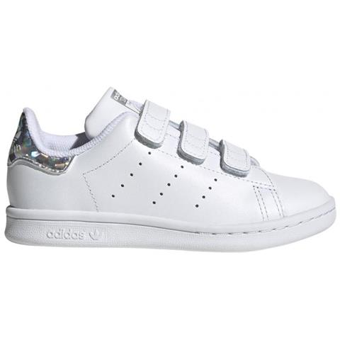 adidas Stan Smith Cf C Sneaker Bambina Uk Junior 35