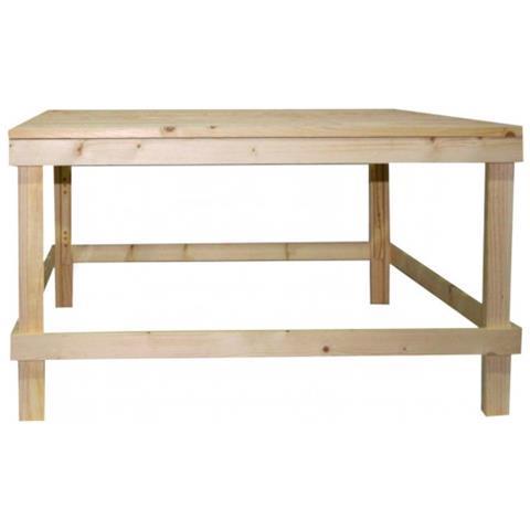 Mobili Rebecca Tavolo Tavolini Da Salotto Legno Chiaro Pallet Rustico  Country