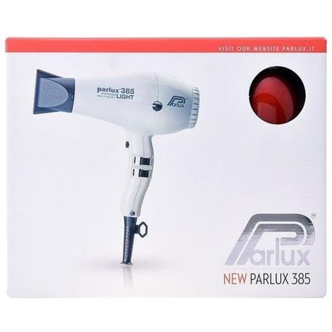 Parlux 385 Asciugacapelli Powerlight Ionic & Ceramic Colore Rosso