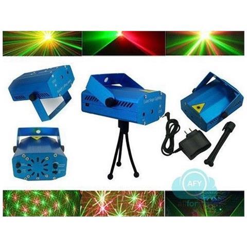 Mini Proiettore Laser Effetto Luci.Easyelettronica Mini Proiettore Laser Effetto Luci Per Disco E Dj Discoteca Feste Party New Mode
