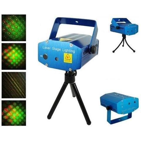 Mini Proiettore Effetto Luci Laser Per Disco Discoteca Dj.Easyelettronica Mini Proiettore Laser Effetto Luci Per Disco E Dj Discoteca Feste Party New Mode