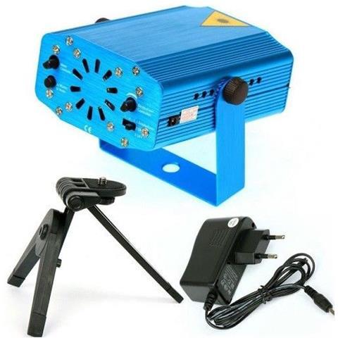 Mini Proiettore Laser Effetto Luci.Easyelettronica Mini Proiettore Laser Effetto Luci Per Disco E Dj