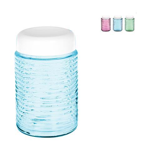 home - barattolo vetro plastica colori assortiti lt1 contenitori per