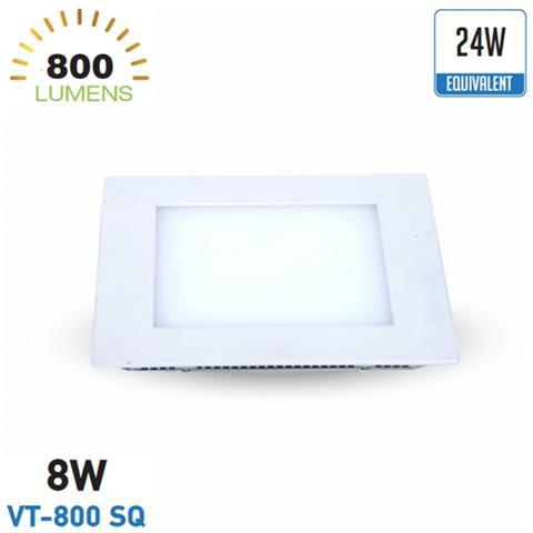 V Incasso 18w Led Bianco Quadrato Tac Caldo Luce Driver Pannello Da 1lF35uKTJc