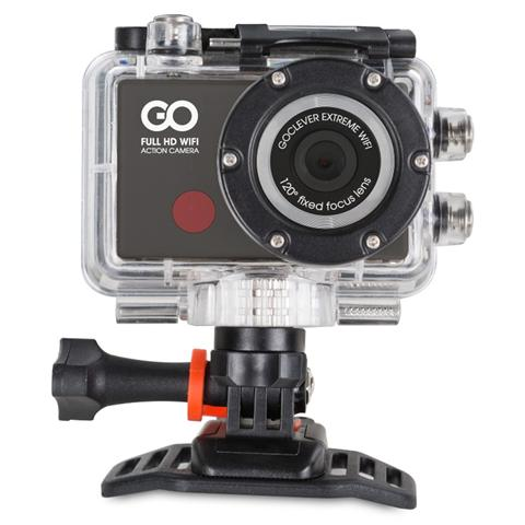 Action Cam DVR Extreme WiFi + Kit Accessori Full HD Display 0.7''