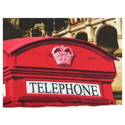Tex family - Copripiumino Londra Inglese Big Ben Telephone Taglia ...