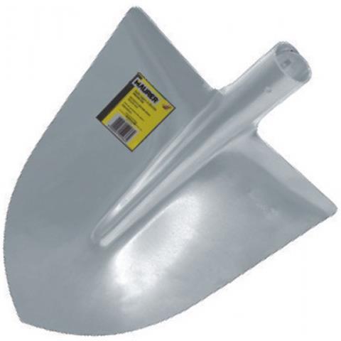 Pala Badile a Punta in Alluminio 290x285 mm Spalla Curva Peso 400 Gr Maurer