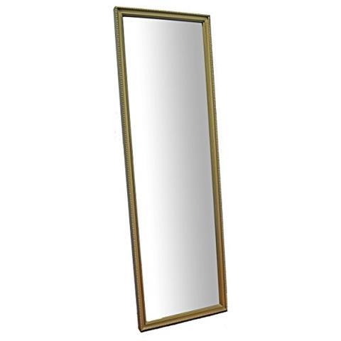 MO.WA - Specchio Da Parete Lungo Oro Cm. 40x145. Cornice In Legno ...