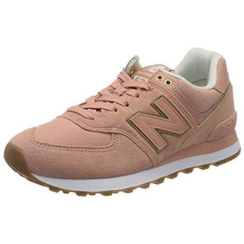 COLUMBIA New Balance 574v2, Sneaker Donna, Rosso (rosso Sob), 36 Eu