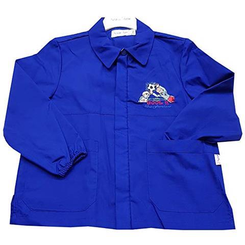 633a1e56be Primo della classe - Grembiule Scuola Elementare Blu Corto Per Bambino  Taglia 85 - 10 Anni - ePRICE