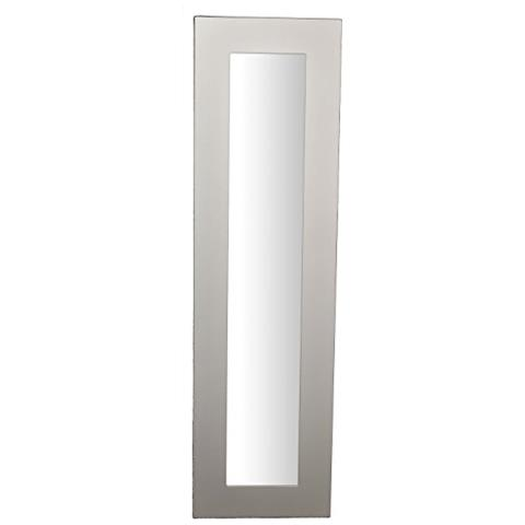 MO.WA - Specchio Da Parete Lungo Con Cornice 50x180 Bianco Shabby ...