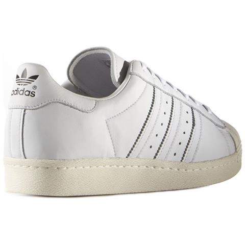 adidas Scarpe Superstar 80s Dlx S75016 Taglia 38 Colore Bianco