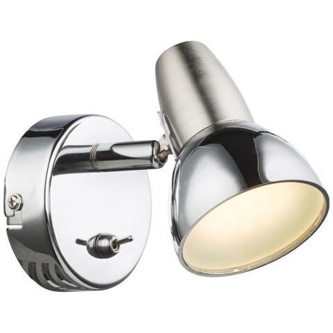 globo lighting - Charme Faretto Led Keller Alluminio Cromato Eek Una ...