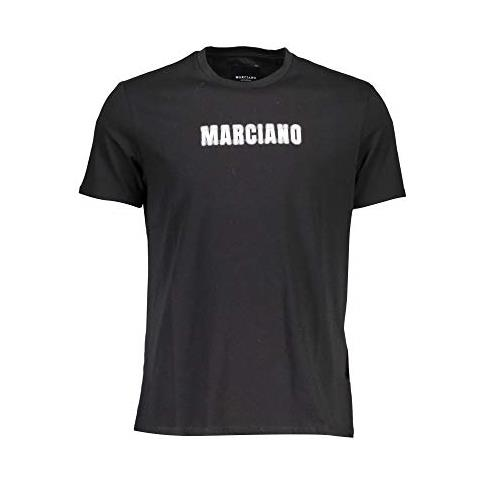 GUESS T shirt Maniche Corte Uomo Nero Xxl