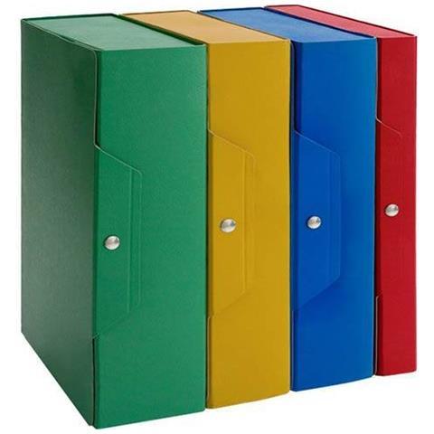 conf.5 Scatole portaprogetti 15cm blu pr 8014819001648 ADV_135625