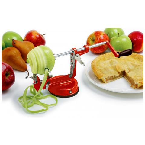 Tagliamele en Ghisa ICO Impeccable Culinary Objects Sbuccia Mela Frutta Sbucciamele 3 in 1 Sbucciamele Levasemi