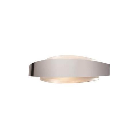 Homemania - Lampada A Parete Fronton Cromo Opaco Design Moderno ...